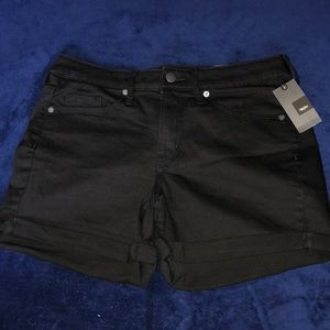 Mossimo Black High Wasted Jean Shorts -Size 8/29